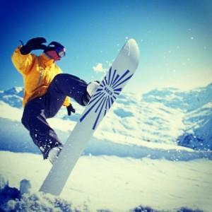 Сноубордист, Хемседал, Норвегия