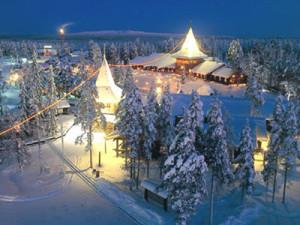 Отдых в Рованиеми зимой
