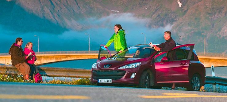 Аренда автомобиля в Норвегии