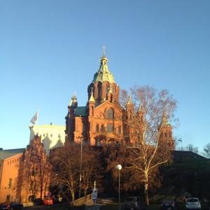 Красивый город Хельсинки