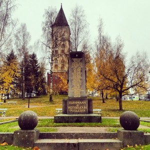 Осень в Лаппеенранте