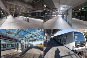 Станция метро в Копенгагене