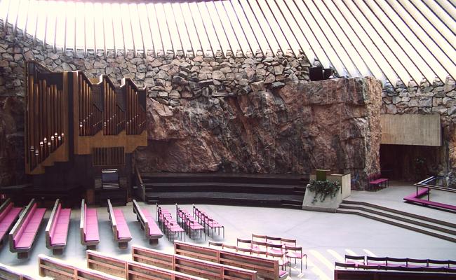 Церковь Temppeliaukio