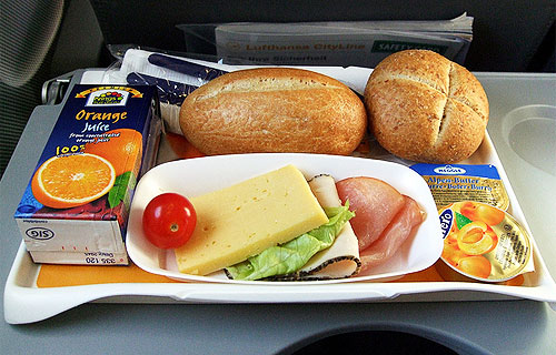 Что взять из еды в самолет