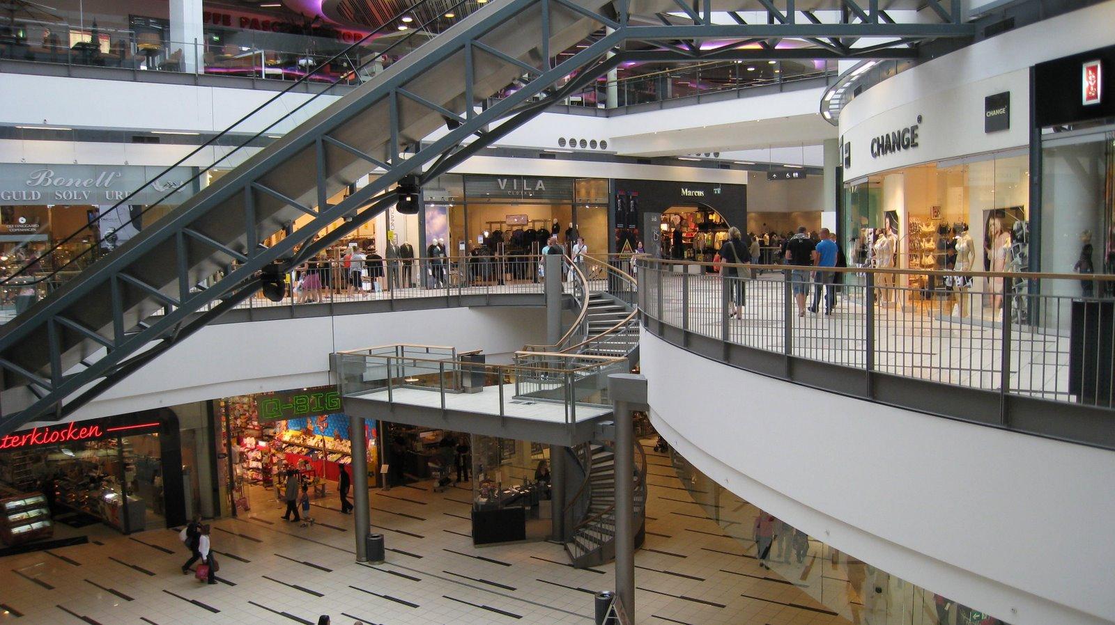 Самые крупные торговые центры Копенгагена
