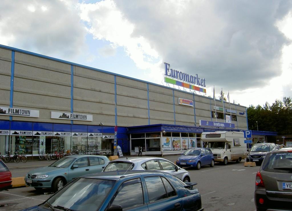 Крупный маркет в Иматре - это Euromarket
