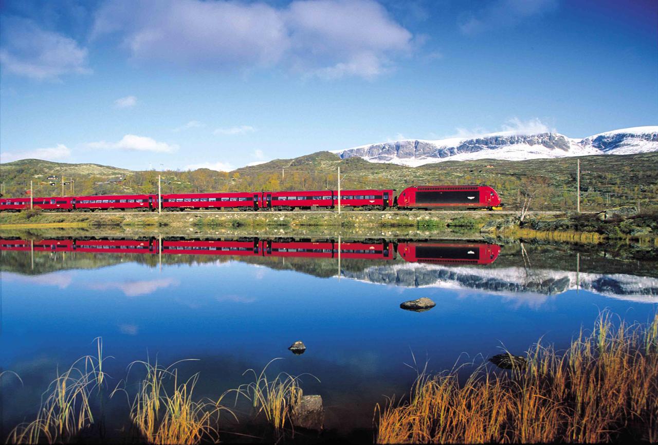 Сеть железных дорог в Норвегии — информация для туриста