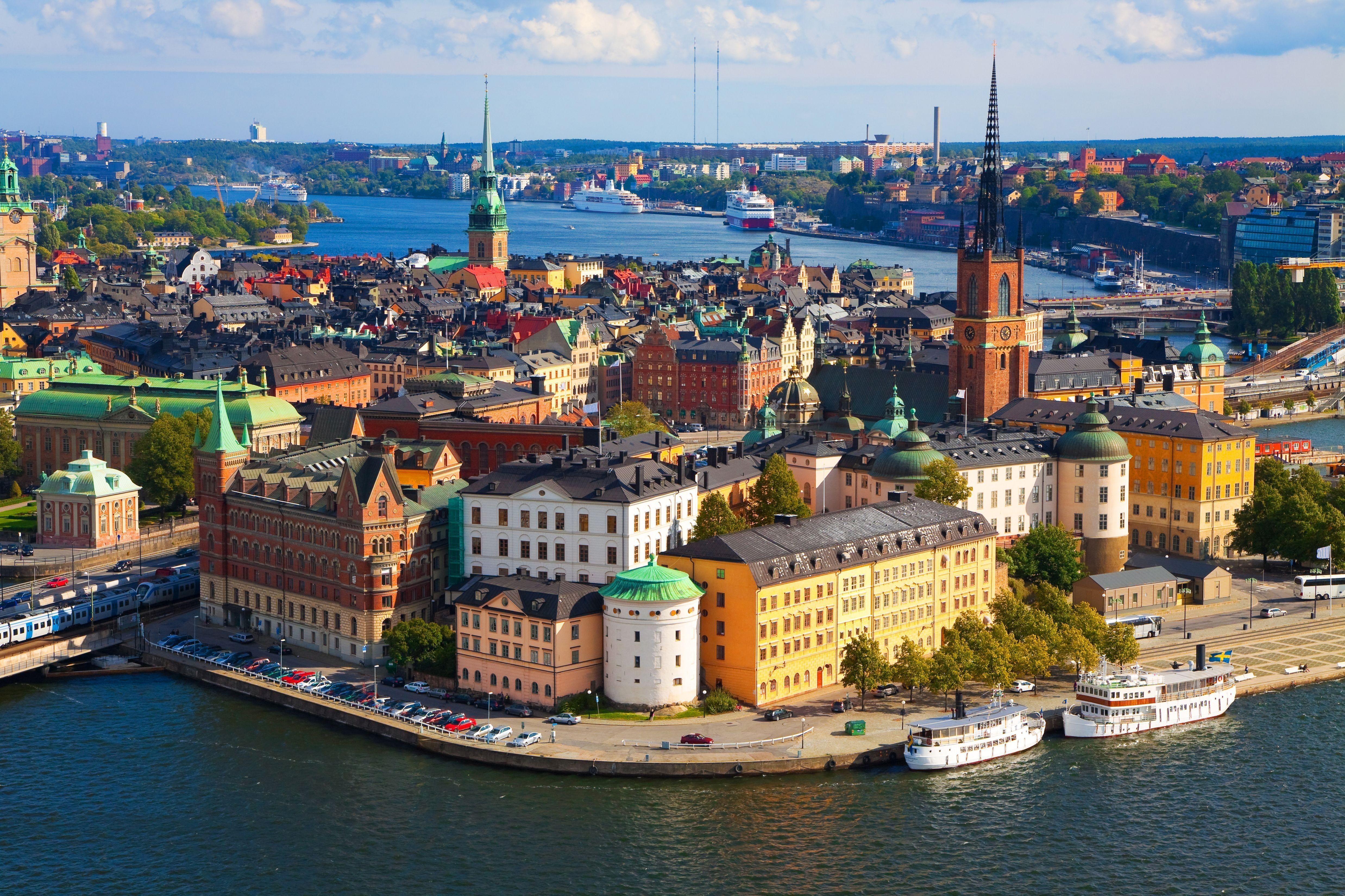 Гастрономический тур в Стокгольм и отдых в Озёрном крае