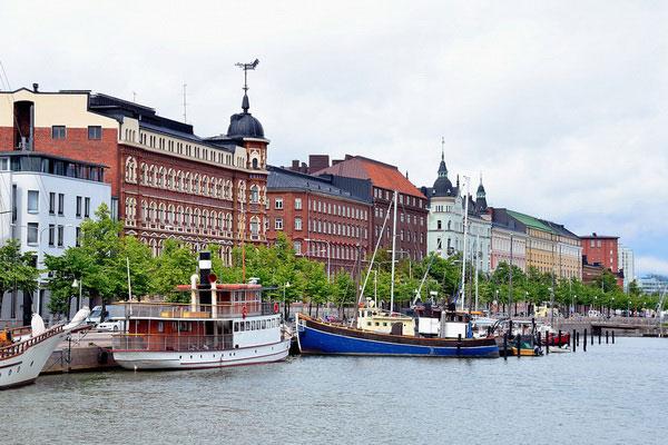 Июльский Хельсинки.