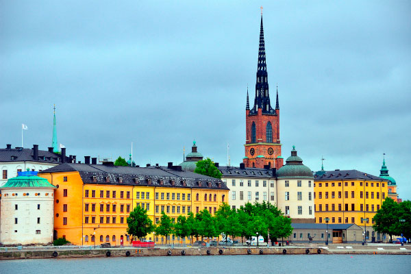 Стокгольм в начале лета.