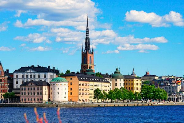 Июльский Стокгольм.