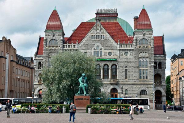 Финский национальный театр.