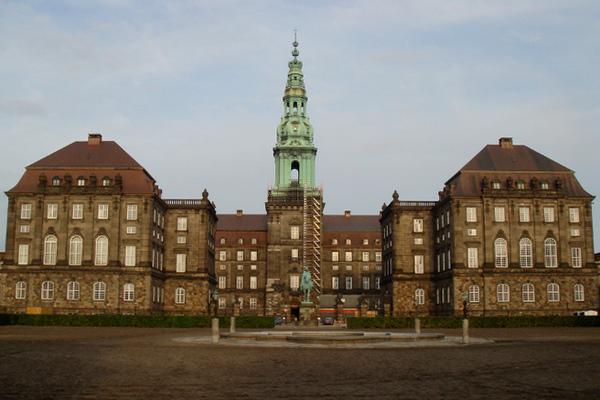 Кристиансборг дворец.