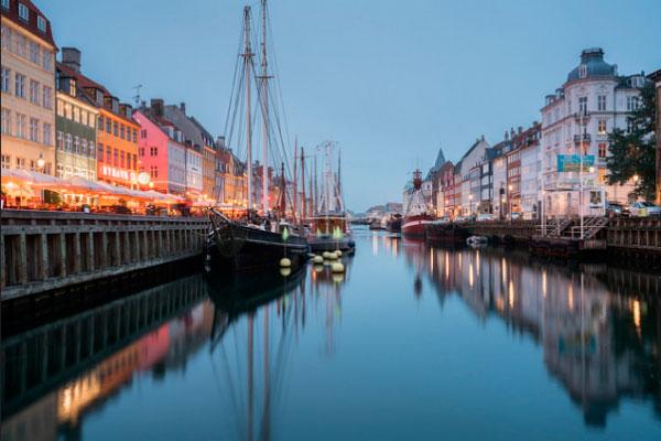 Порт Копенгагена.