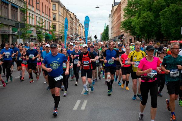 Ежегодный марафон.