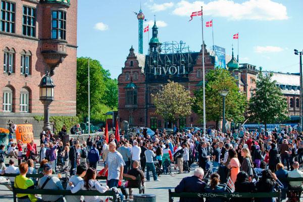 День Конституции в Дании.