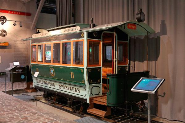 Трамвайный музей.