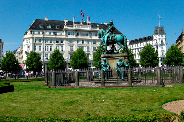 Отель D'Angleterre.