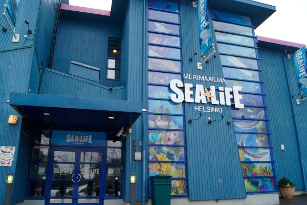 Морской центр Sea Life.