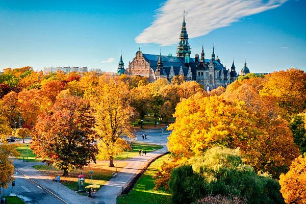 Столица Швеции в октябре 2019 года.