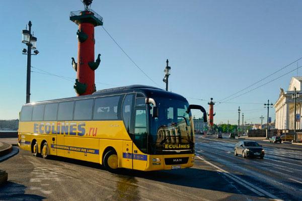 Рейсовый автобус.
