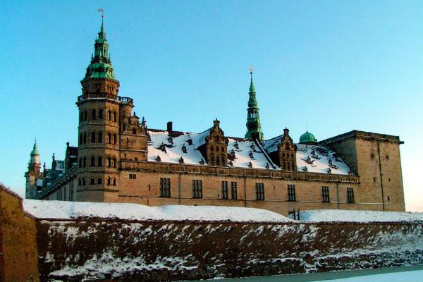 Замок Кронборг.