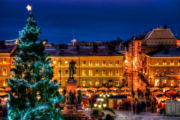 Рождество в Хельсинки.