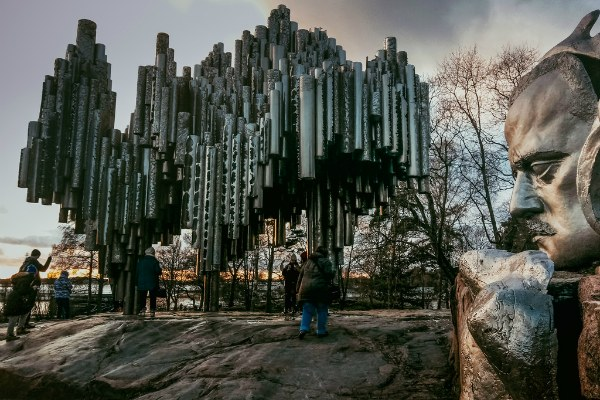 Парк Сибелиуса.