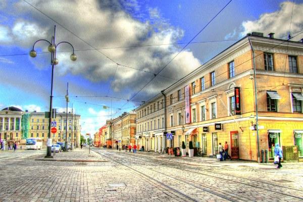 Осень в Хельсинки.