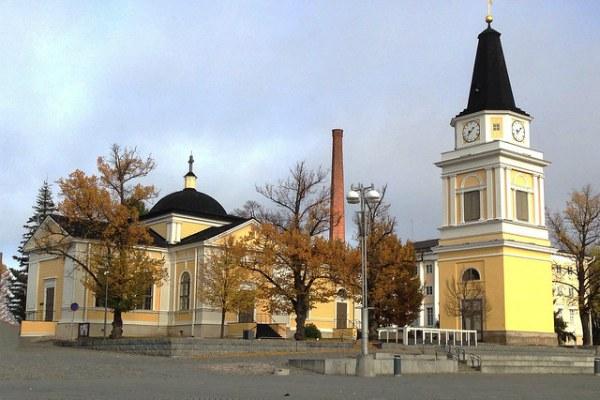Окрестности Хельсинки.