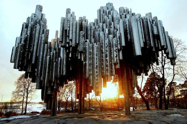 Памятник Яну Сибелиусу.