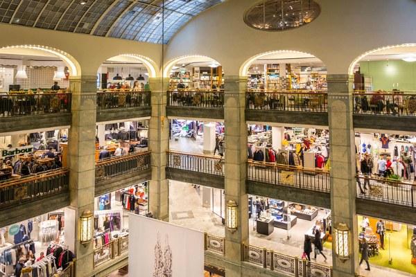 Торговый центр «NK».