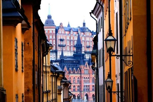 Средневековые улицы столицы.