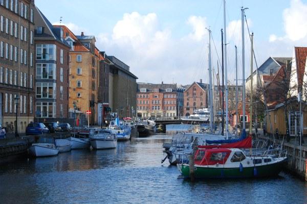 Весна в Копенгагене.