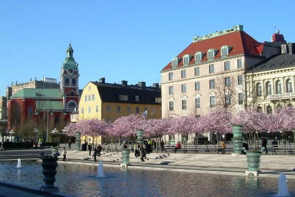 Апрельский Стокгольм.