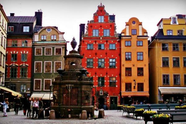 Стокгольм весной.